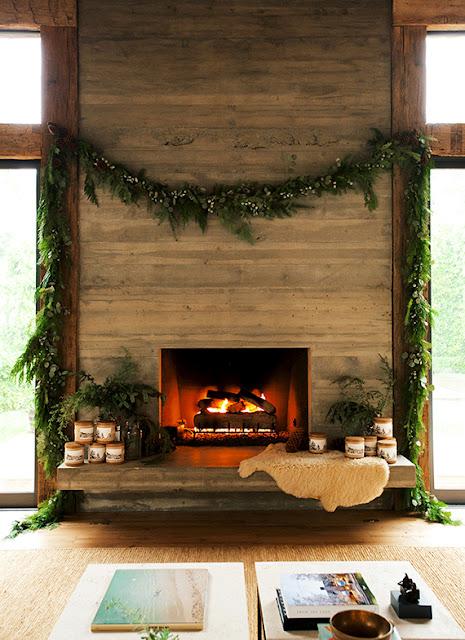 Aconchegante decoração de Natal | Imagem por Yayo Ahumada via Domaine