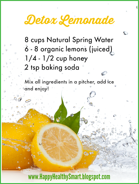 Lemon detox water. 20 reasons to drink lemon water every day