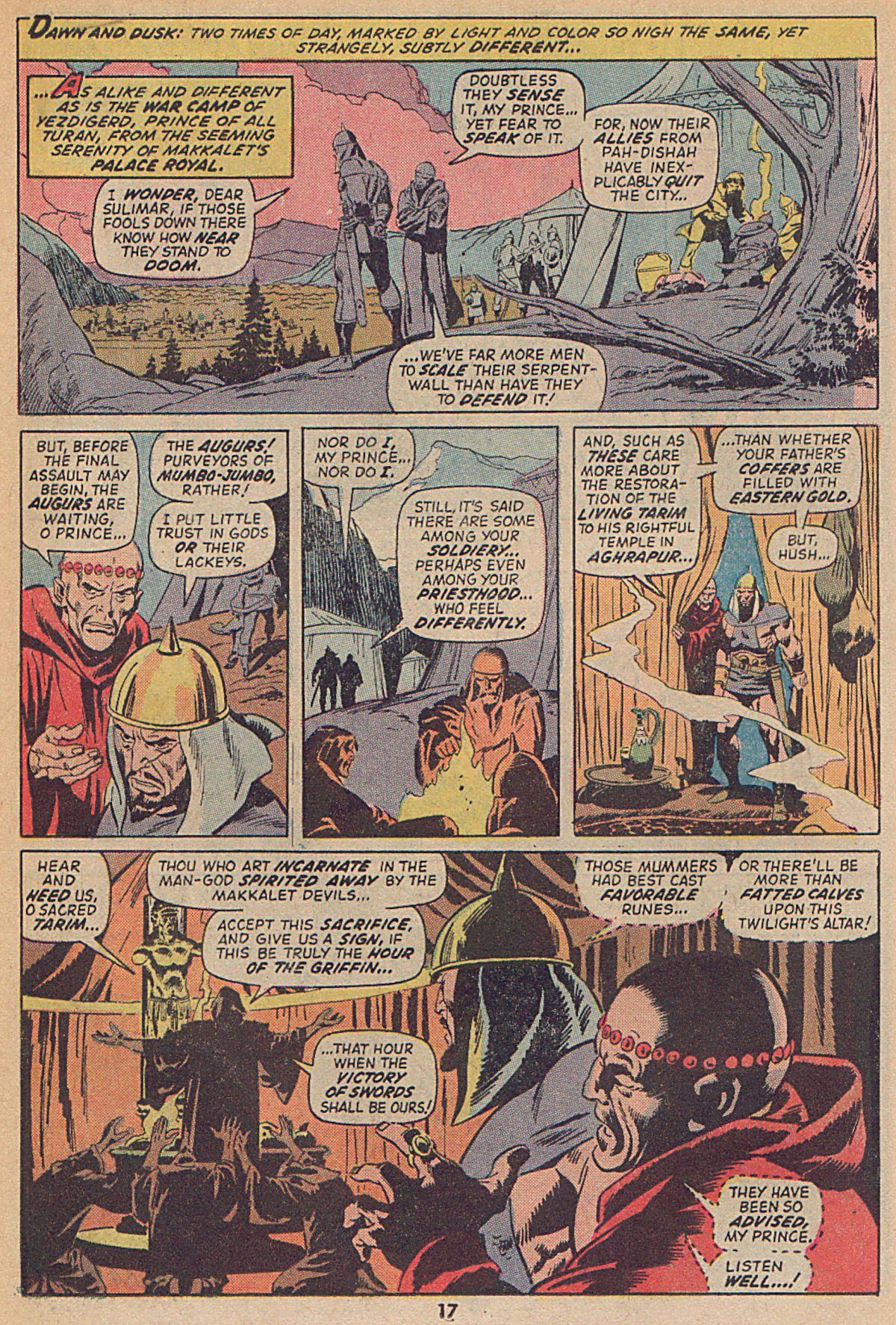 Conan the Barbarian (1970) Issue #25 #37 - English 13
