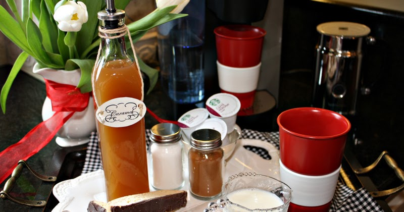 Keurig Coffee Maker Knock Off : Beaux R eves: Starbucks Syrup Knockoff