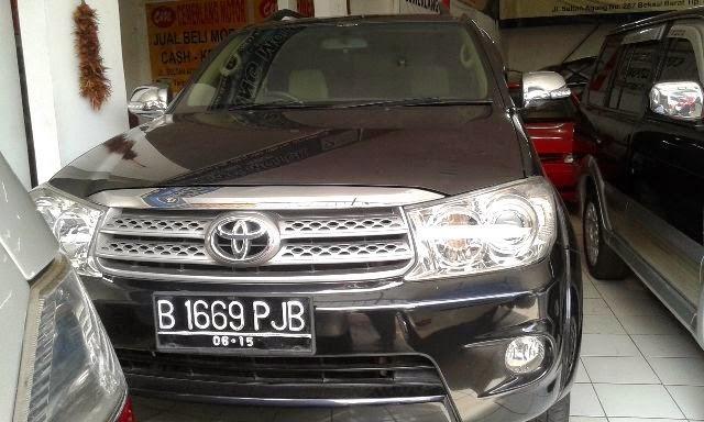 Biaya Mutasi dan Balik Nama Mobil Toyota Fortuner 2.5 G A ...
