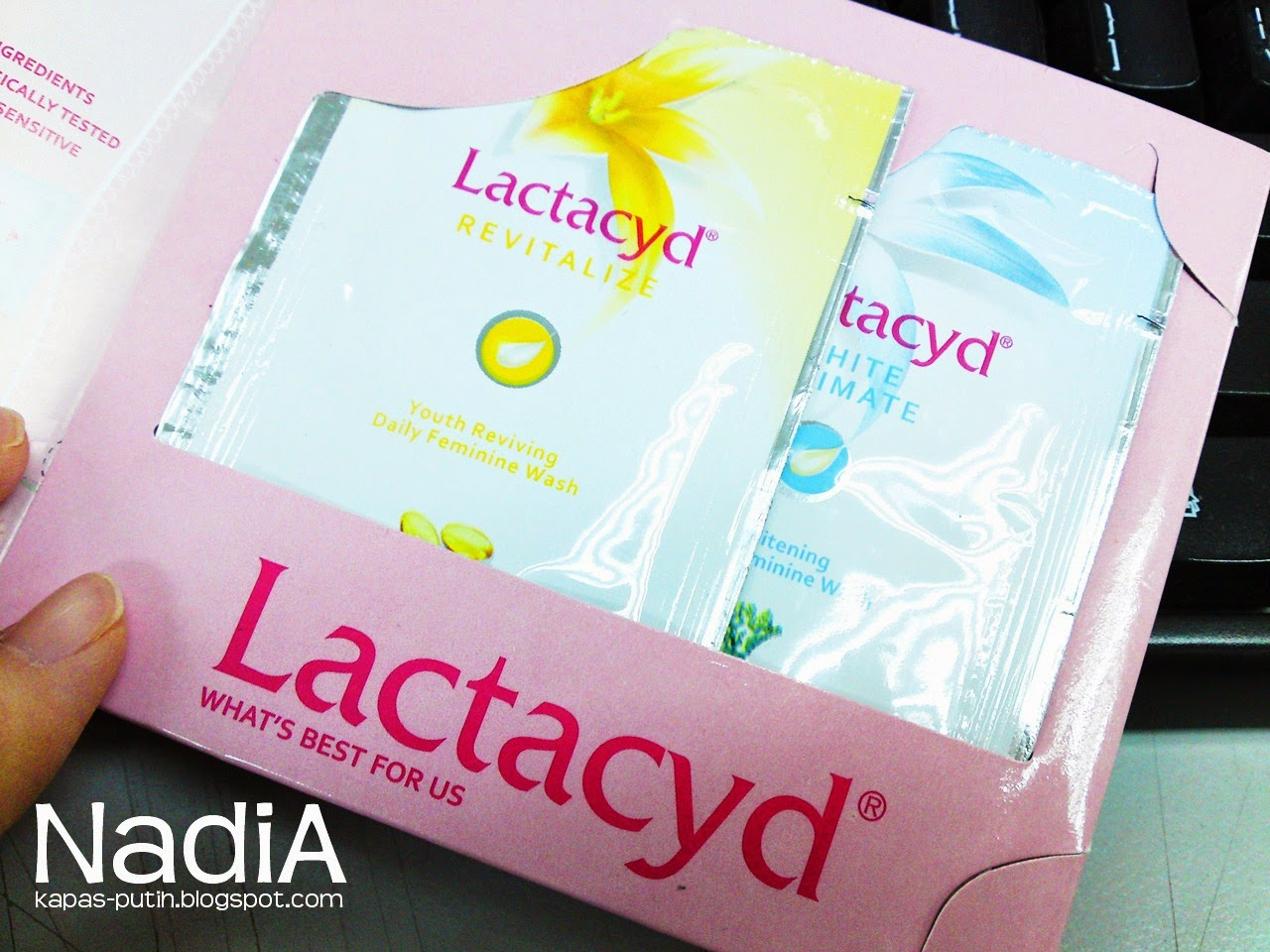Free Lactacyd Sample - It's time to love your V
