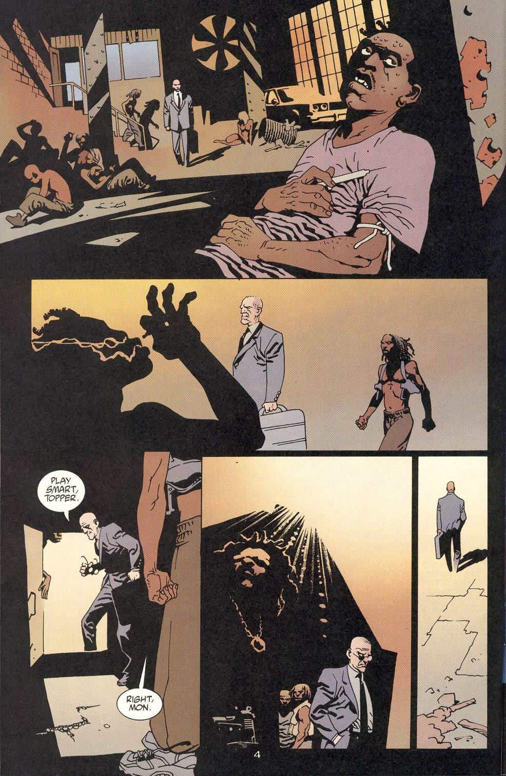 100 Bullets 8 Page 4