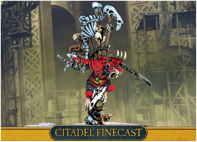 GW Citadel Skaven Warlord Queek
