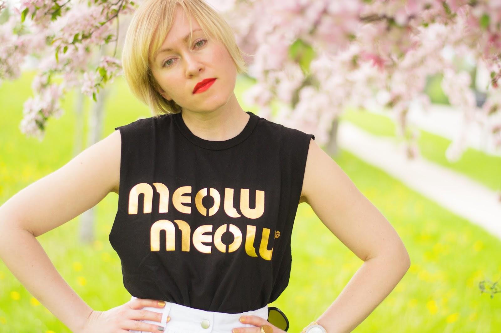 Brian Lichtenberg Meow Meow shirt