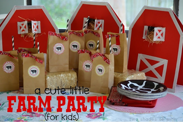 Harvest Blessing In My Treasure Box Farm Party Ideas
