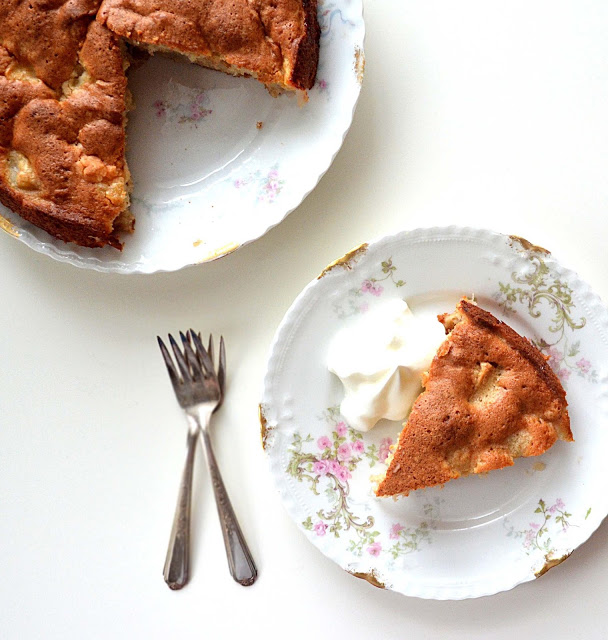 Favorite Fall Dessert ~ Foolproof French Apple Cake