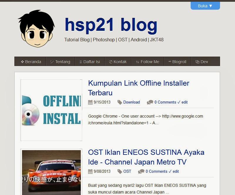 hsp21 blog