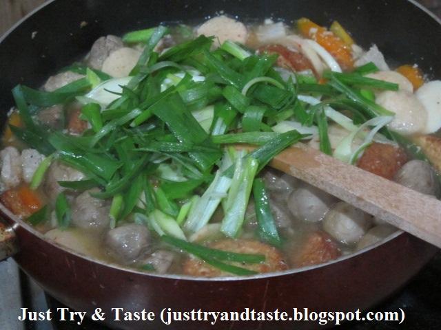 resep sapo tofu tuna dan jamur just try amp taste