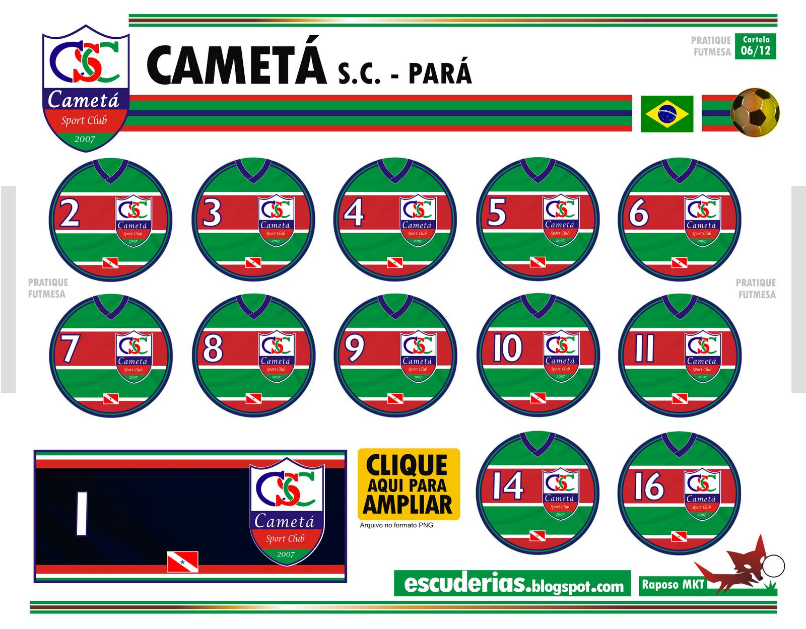 Escuderias camet pa for Cameta com