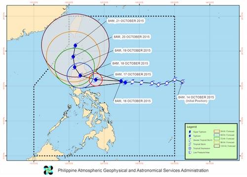Typhoon Lando 2015