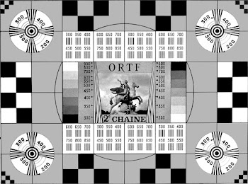 Mire ORTF 2éme chaine  N&B