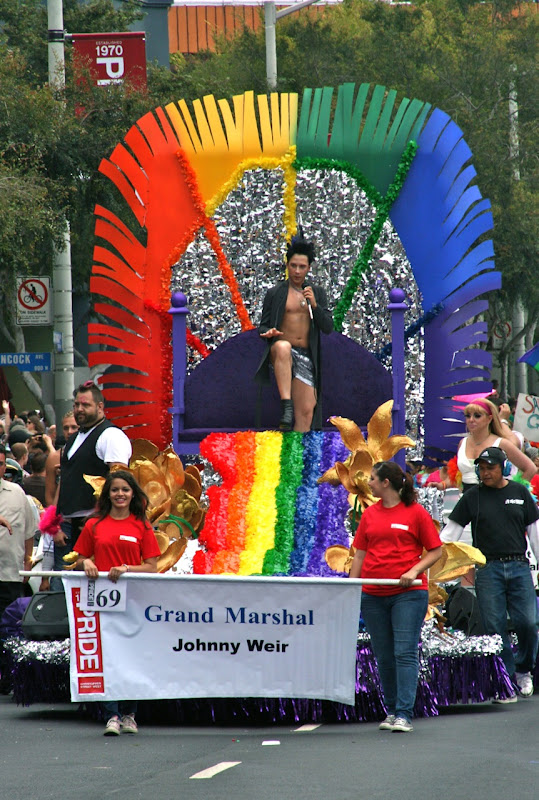 Johnny Weir WEHO Pride Grand Marshal 2011
