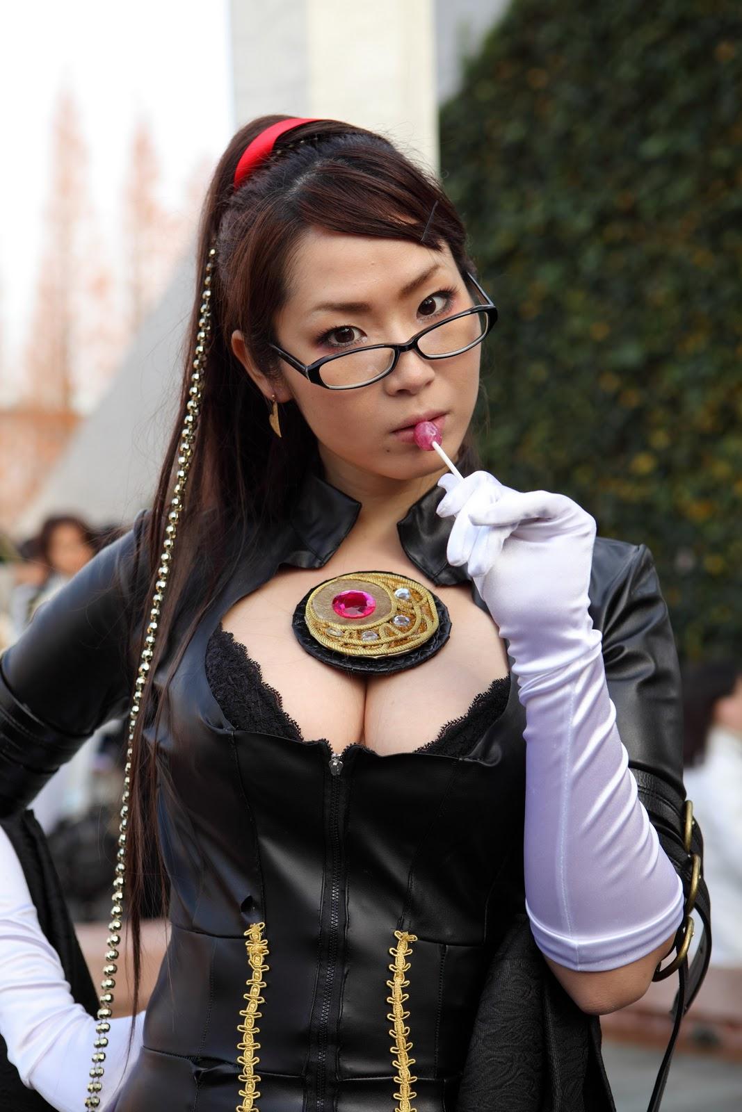 Ảnh gái xinh khoe bưởi trong lễ hội Cosplay 14