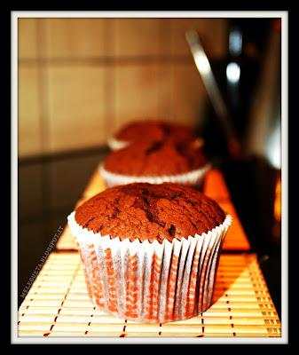 esposizione di muffin frontale