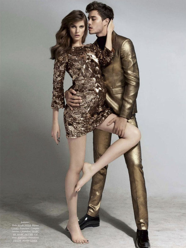 Ford Models: Francisco Lachowski e Jessiann Gravel