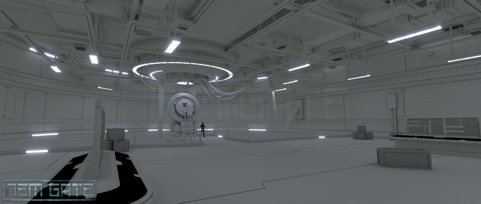 sci fi laboratory scientist dan brown cgi sci fi art lessons