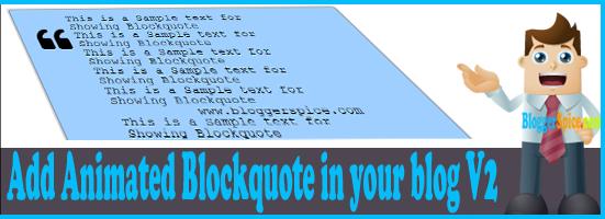 animasi blockquote dengan efek transisi
