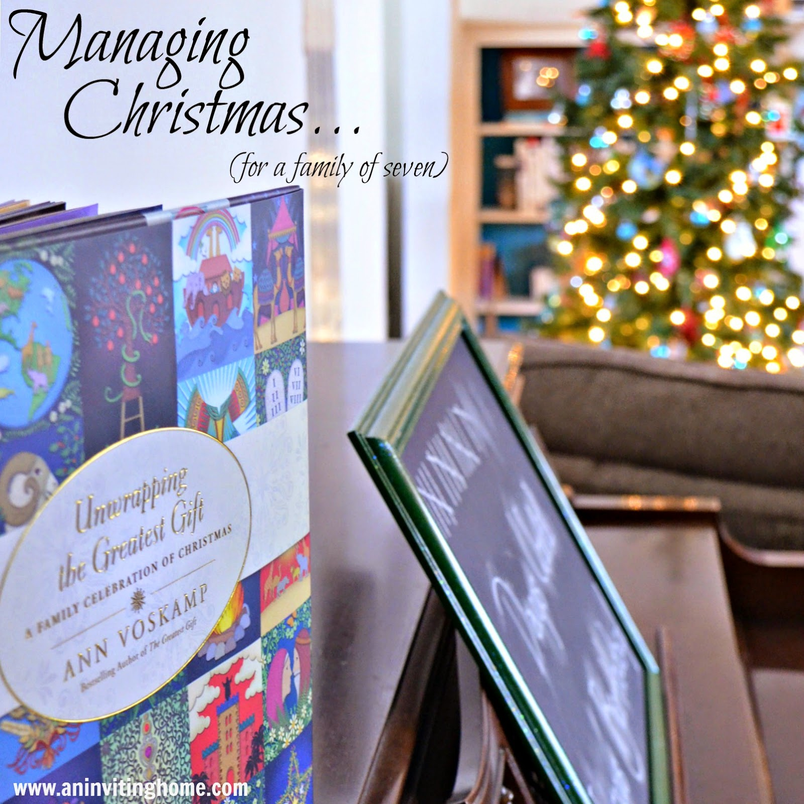 Managing Christmas for a family of seven