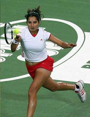 sania mirza boob photo