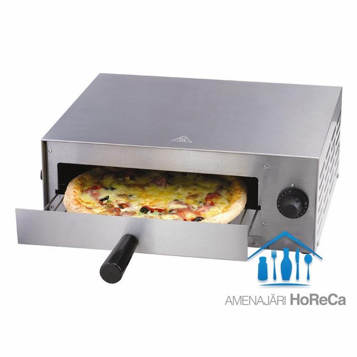 Cuptor pizza electric, model mic de 1 bucata pizza, diametru maxim 30 cm, ideal pentru pizza congelata
