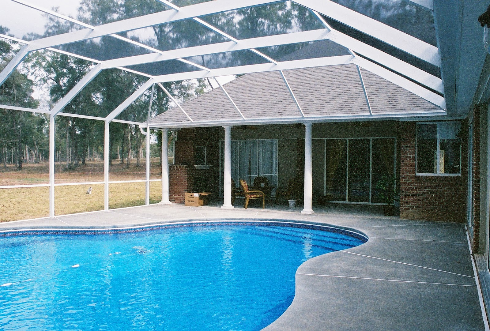 Pool enclosures usa for Inground pool enclosure prices