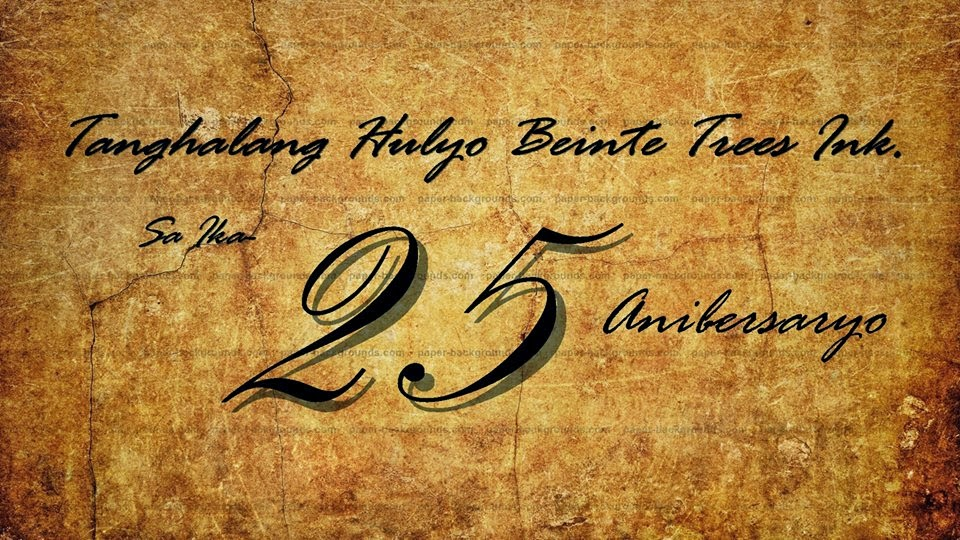 25th Years of Tanghalang Hulyo Beinte Tres