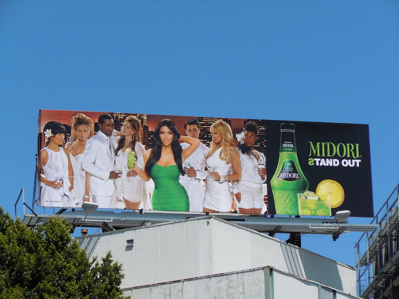 Midori Kim Kardashian billboard