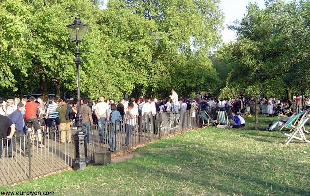 El rincón de los oradores de Hyde Park