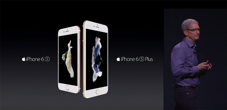 Tim Cook Introducing iPhone 6s and 6s plus in Apple 2015 Event