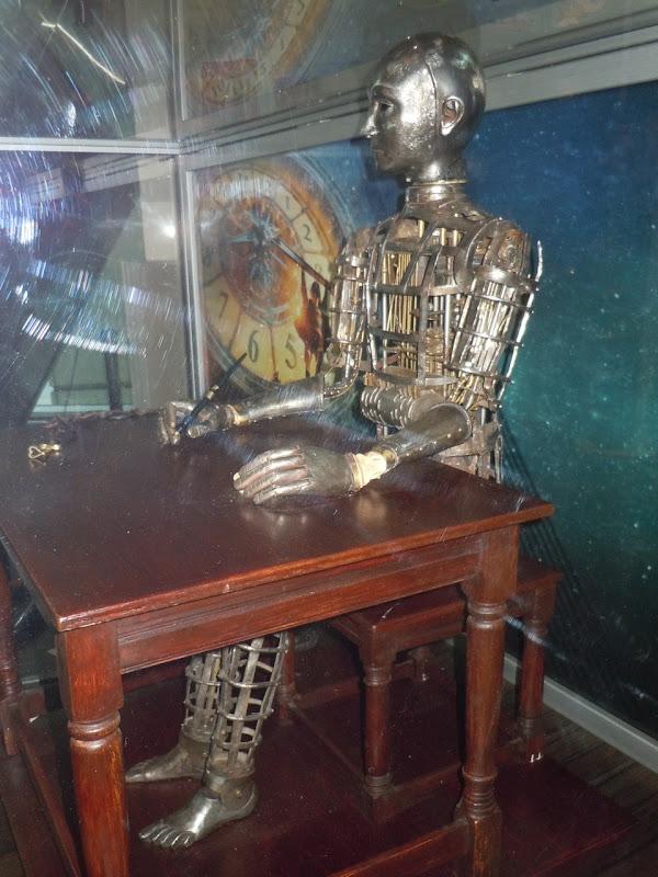 Hugo automaton film prop