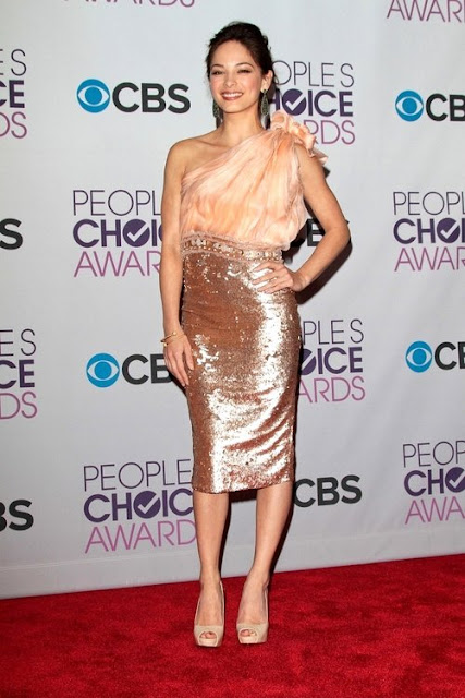 Kristen Kreuk at The Peoples Choice Awards 2013
