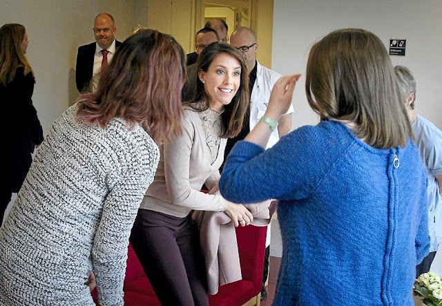 Princess Marie is a patron of the Danish Epilepsy Association and Kattegatcentret