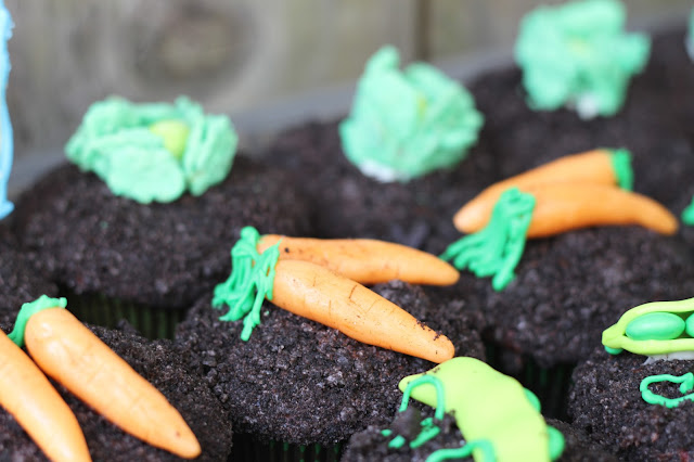 Candy Carrots Garden Hello Cupcake