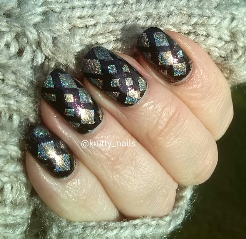 SV by Sparkly Vernis Gilded Lemon Drops  and Lealac LLC-A