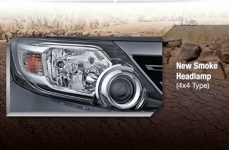 New Smoke Headlamp Fortuner