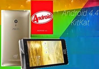 Cara Update Manual Asus Zenfone 5 ke Kitkat 4.4