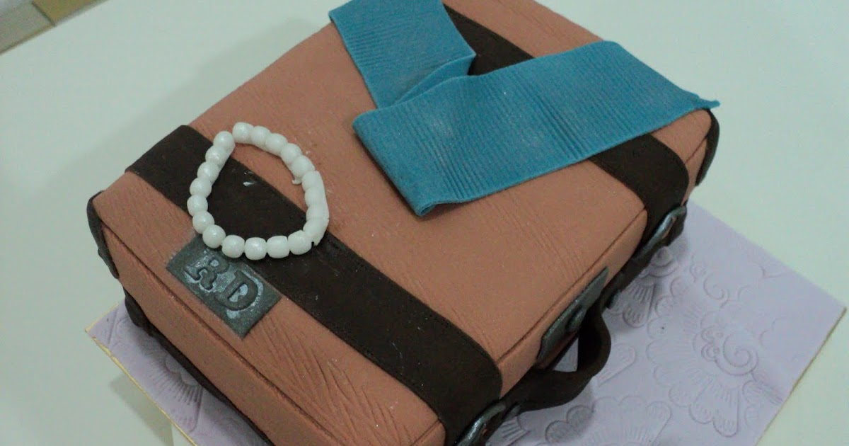 Cakes Cakes N More Suitcase Cake