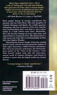 Back cover of After the Golden Age by Carrie Vaughn