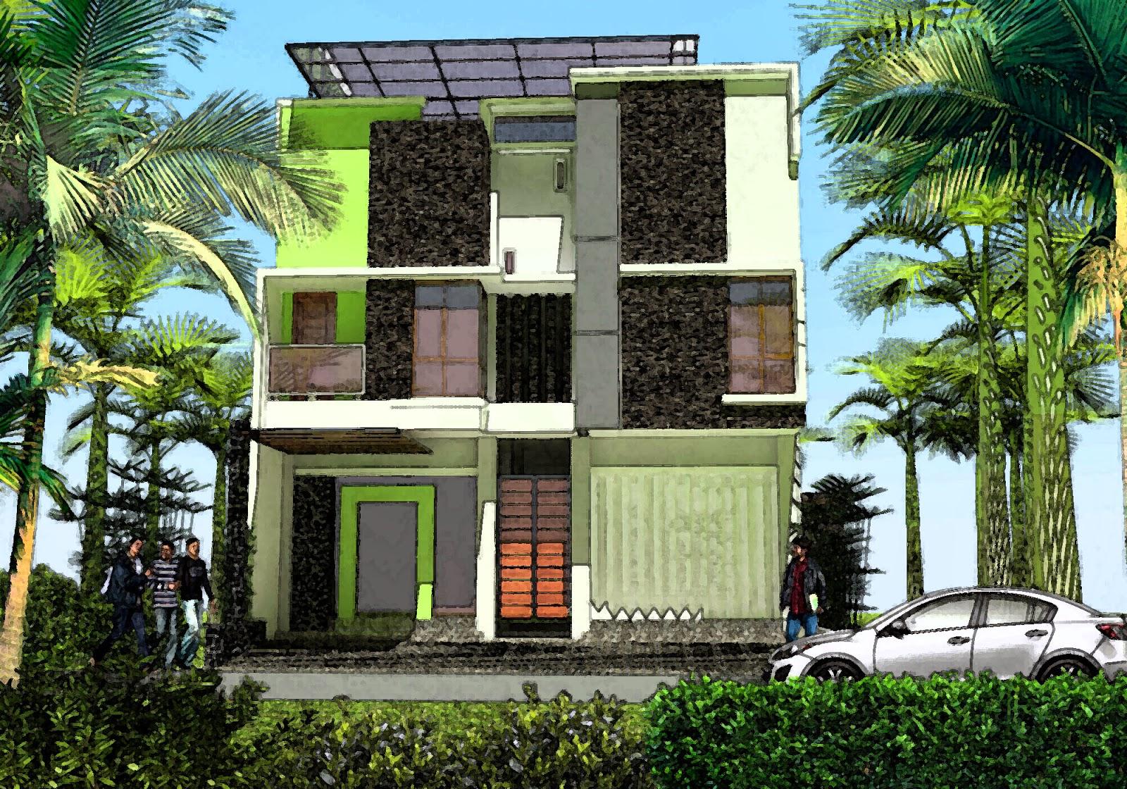 Rumah Tropis Minimalis Multi Usaha