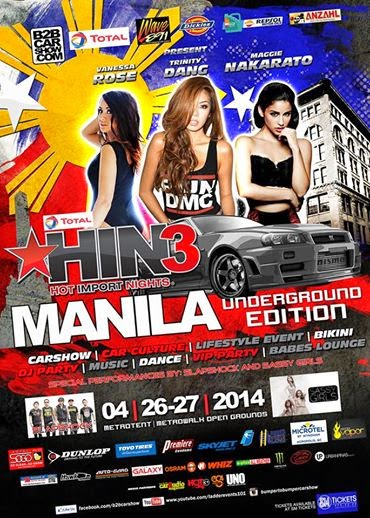 Hot Import Nights 3 Manila Poster