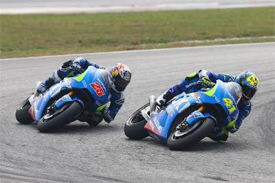 Aksi Terpuji Dua Pembalap Suzuki di GP Sepang Layak Jadi Panutan