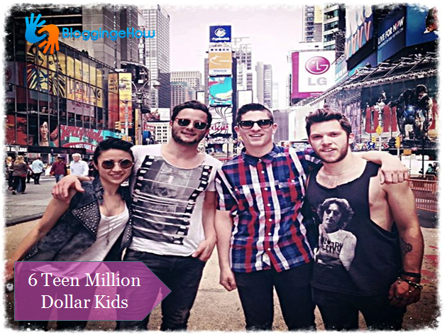 teen million dollar kids