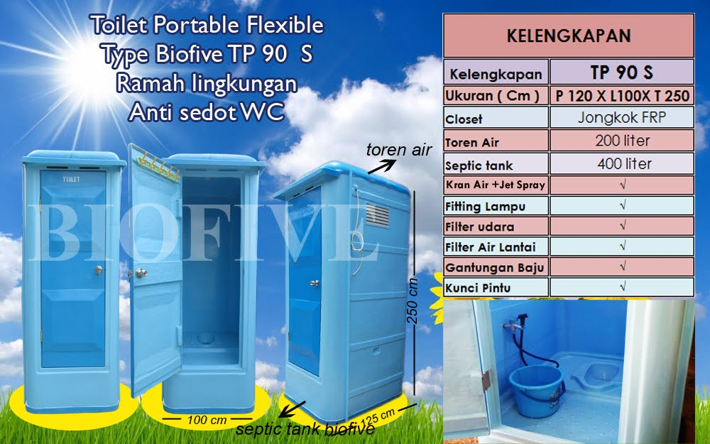 Toilet Portable TP 90 S