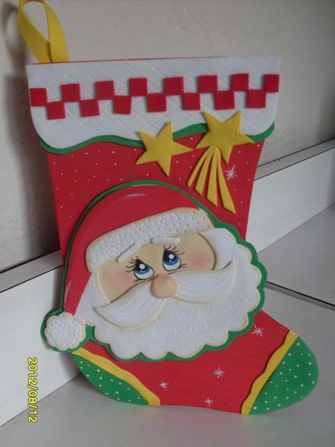 Decoracion de navidad en foami - Manualidades de decoracion ...