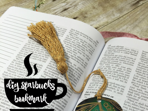 For the Love of Starbucks! | DIY Starbucks Bookmarks