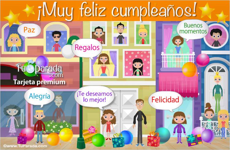 ¡Muy feliz cumpleaños!