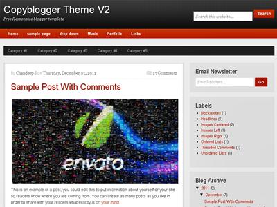 Copyblogger-V2 – Responsive Template