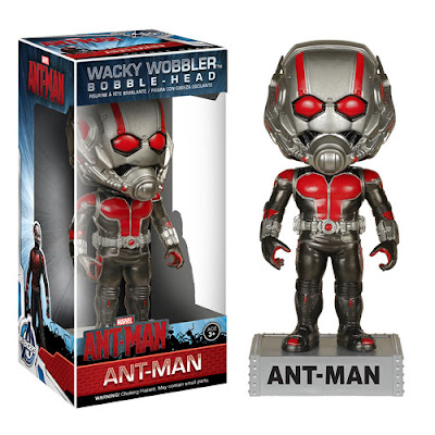 Ant-Man Marvel Movie Wacky Wobbler Bobble Heads by Funko - Ant-Man