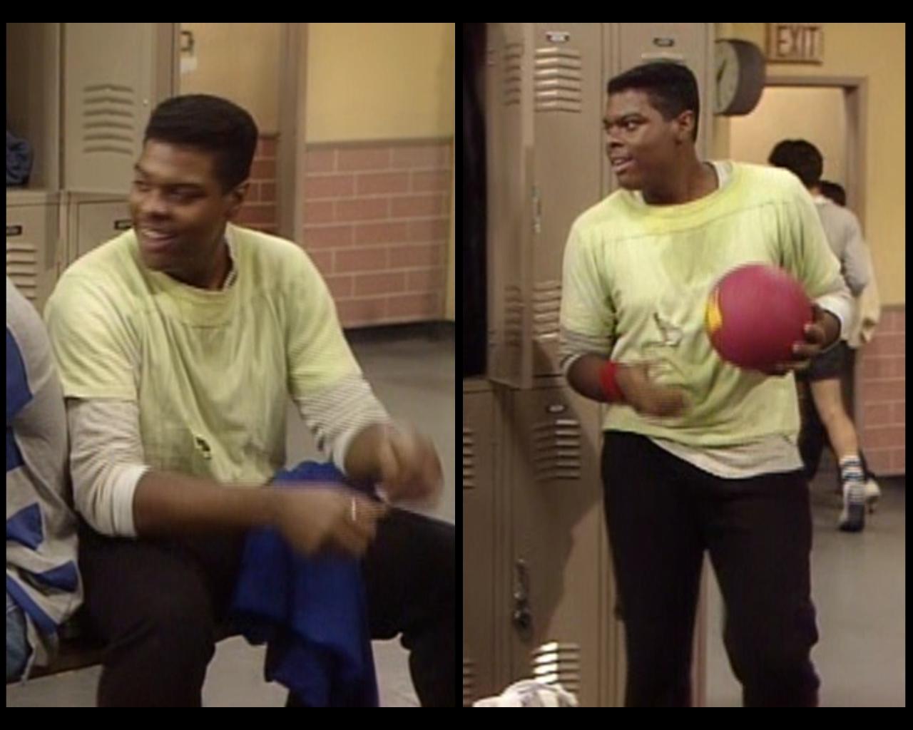 Cosby Show The Locker Room